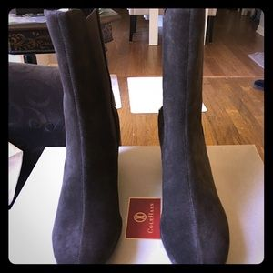Cole Haan Suede Boots. NWT